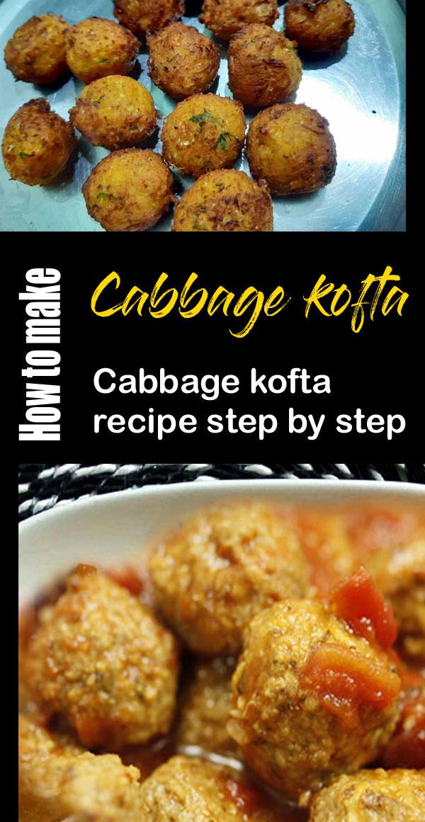 Cabbage Kofta recipe