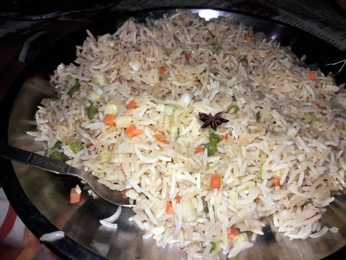 Vegetable pulao | veg pulao | Pilaf recipe