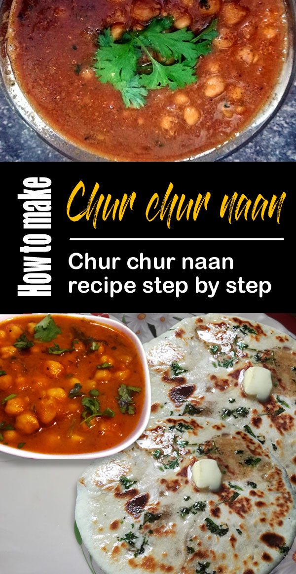 Chur chur naan recipe