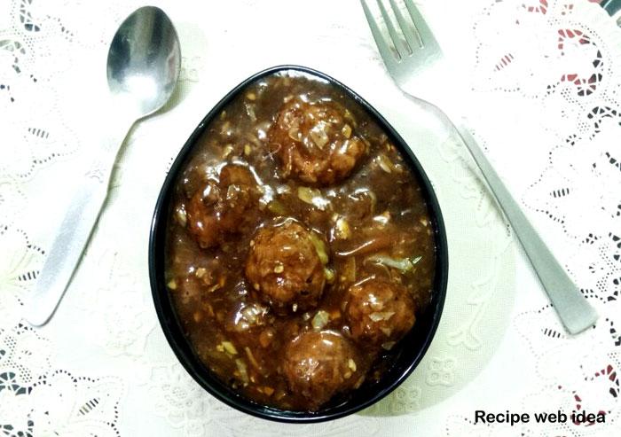 Veg Manchurian recipe | Vegetable Manchurian