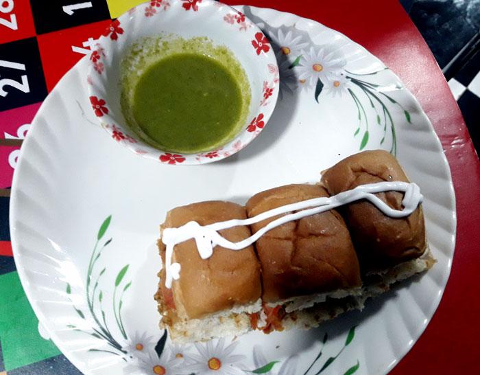 Pav sandwich recipe | masala pav sandwich