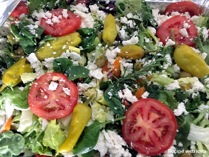 Feta Cheese Salad Recipe   Greek salad recipe