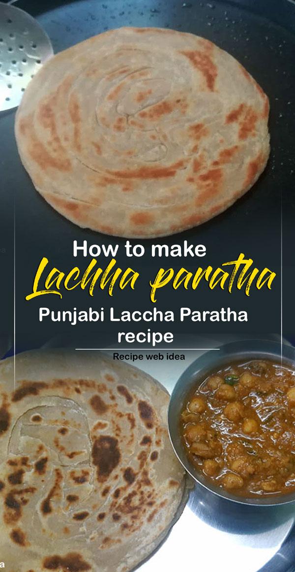 Lachha paratha recipe | layered Paratha | North Indian recipe