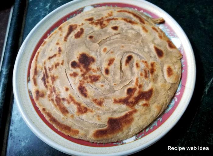 Lachha Paratha Recipe | layered Paratha