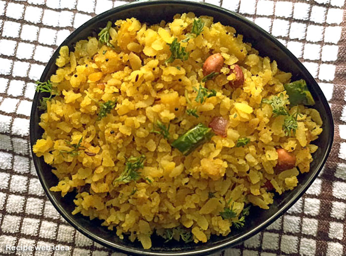 Poha recipe | Kanda Poha recipe | Indian snacks