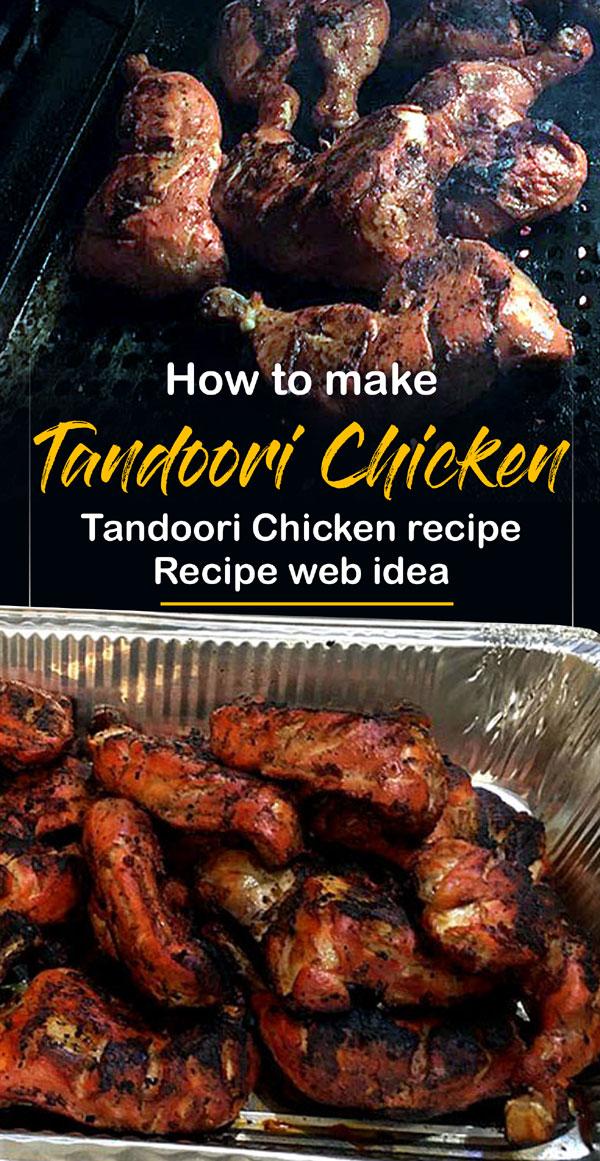 Tandoori Chicken recipe | traditional recipe