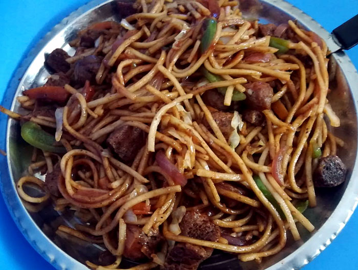 Veg Noodles recipe  Vegetable noodles   Veg Hakka Noodles Recipe