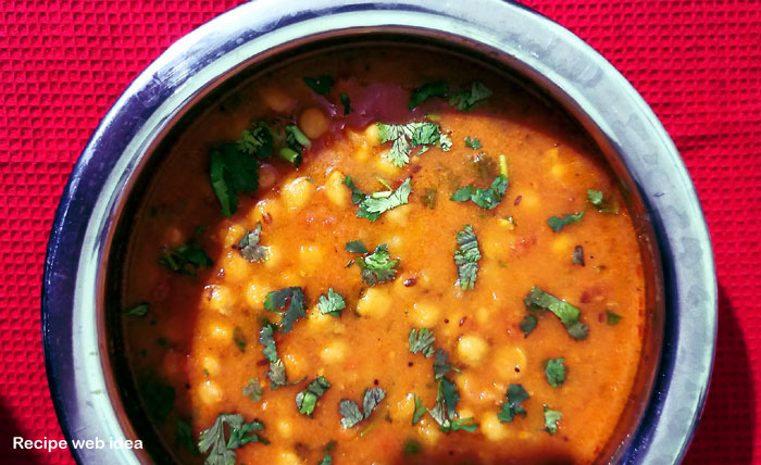 Chickpeas curry | chana masala