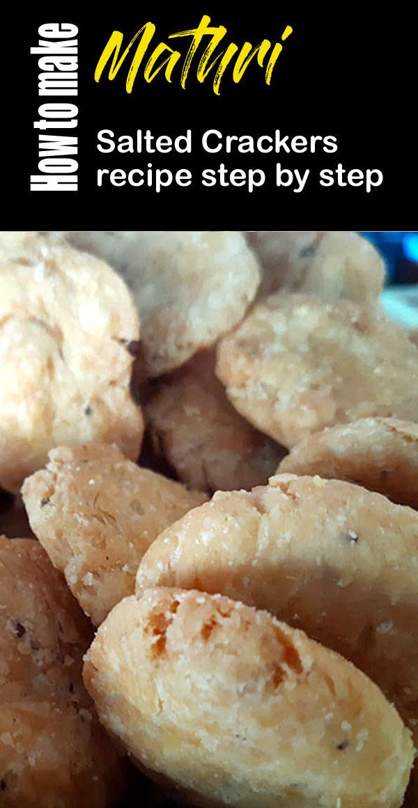 Mathri Recipe | How to make mathri | Salted Crackers