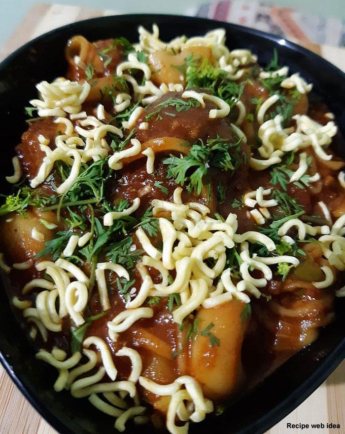 noodles manchurian