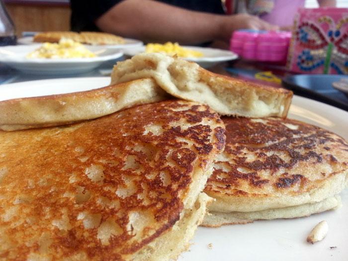 Italian Style Semolina Pancake recipe