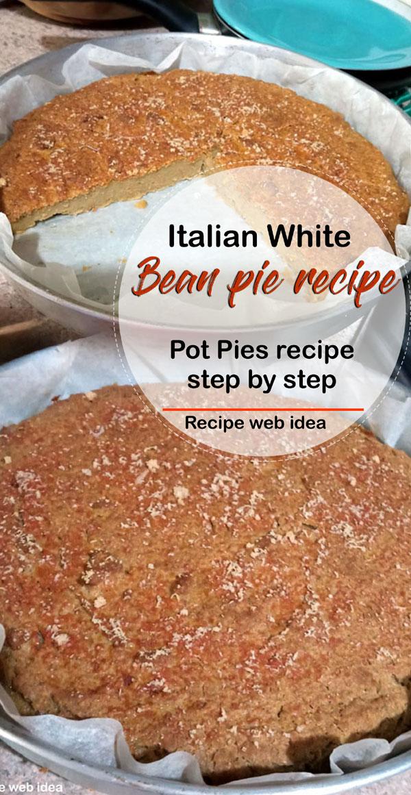 Bean pie recipe   Pot Pies recipe