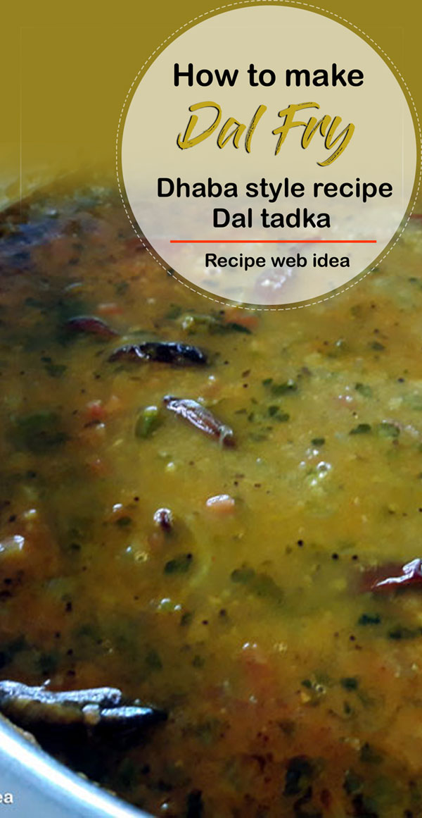 Dal Fry Dhaba style