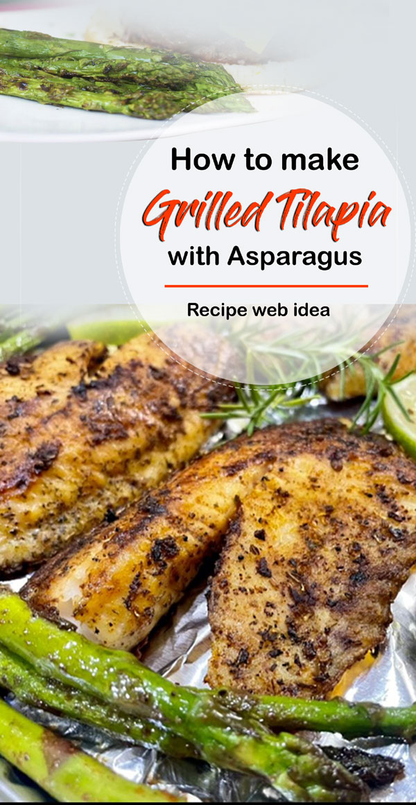 Grilled Tilapia with Asparagus