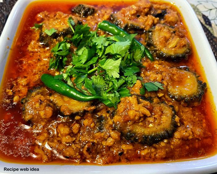 Keema Karela Recipe