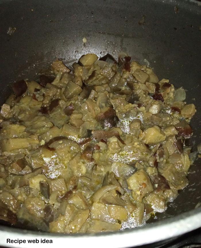Vegan eggplant risotto recipe
