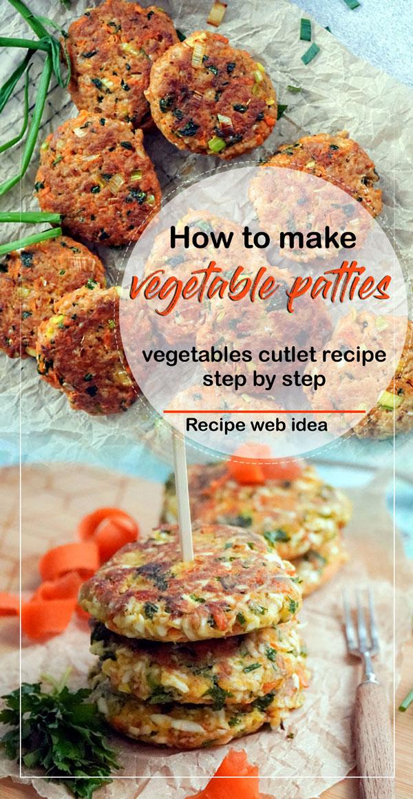 veg cutlet Recipe | Vegetable Patties